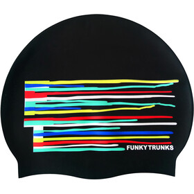 Funky Trunks Silicone Badehætte, drip funk